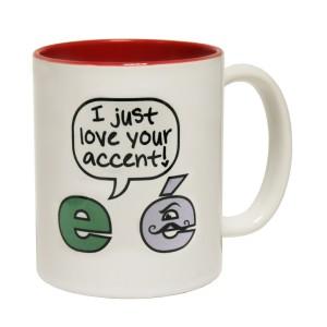 accents mug